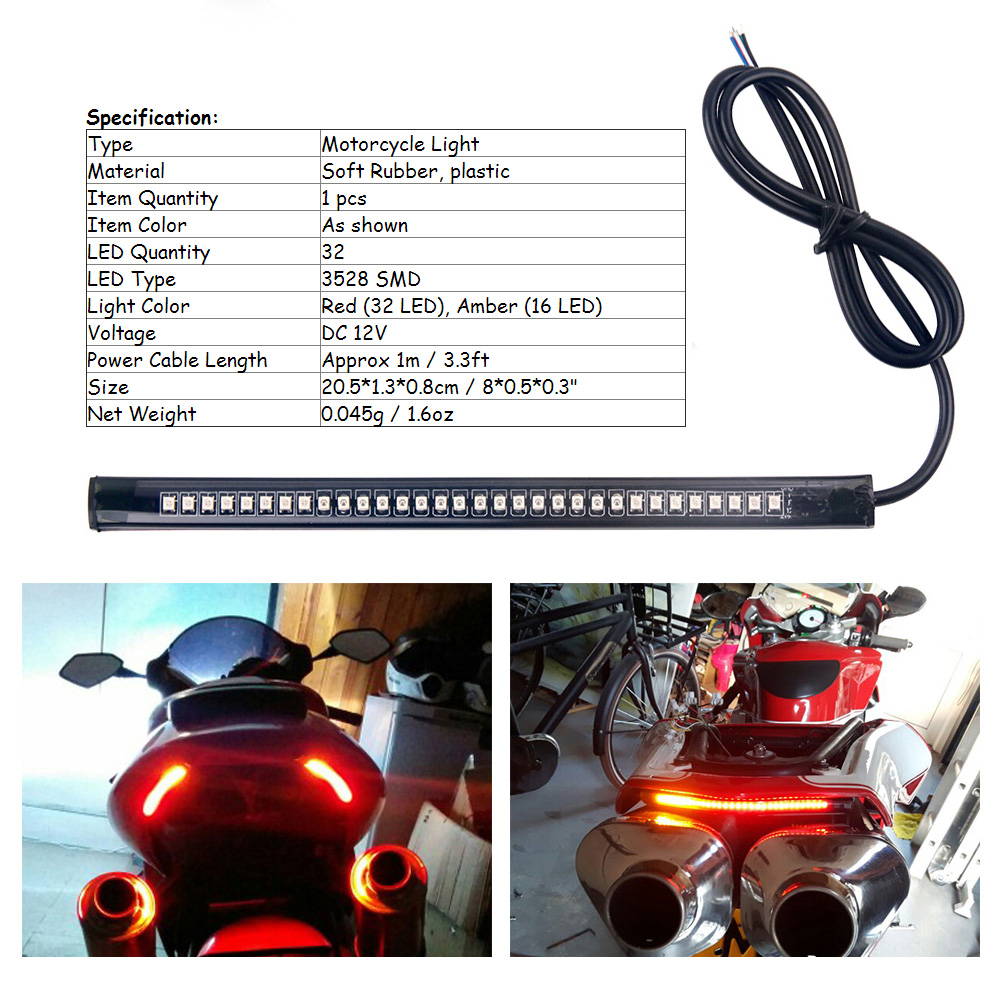 Univerzalno fleksibilno svjetlosno svjetlo kočnice za zaustavljanje - Svjetla automobila - Foto 4