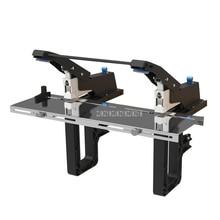 SH-04G Escritório Costureiro Manual Desktop Flat/Sela Dupla Mão Operar Máquina Grampeador Grampos Da Pasta de Papel Máquina de Encadernação De livros