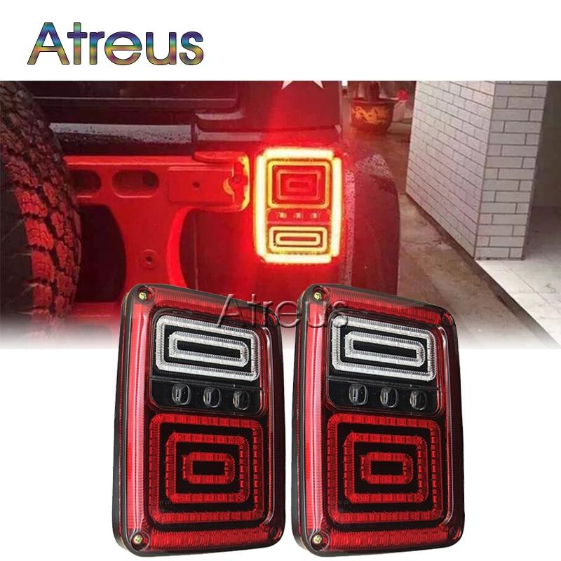 Luces traseras LED para coche Atreus para Jeep Wrangler JK 07-15 - Luces del coche