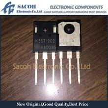 10 шт. IKW25T120 IKW25N120T2 K25T120 K25T1202 TO-247 25A 1200 V мощный IGBT транзистор
