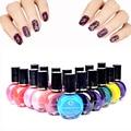 26 Цветов печати лак для ногтей 10 мл ногтей штамповки польский профессиональный живопись ногтей лак для ногтей искусство тиснения печати