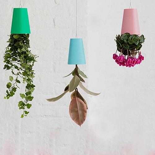 pclot color sky planter hanging plstico macetas para plantas de interior jardn