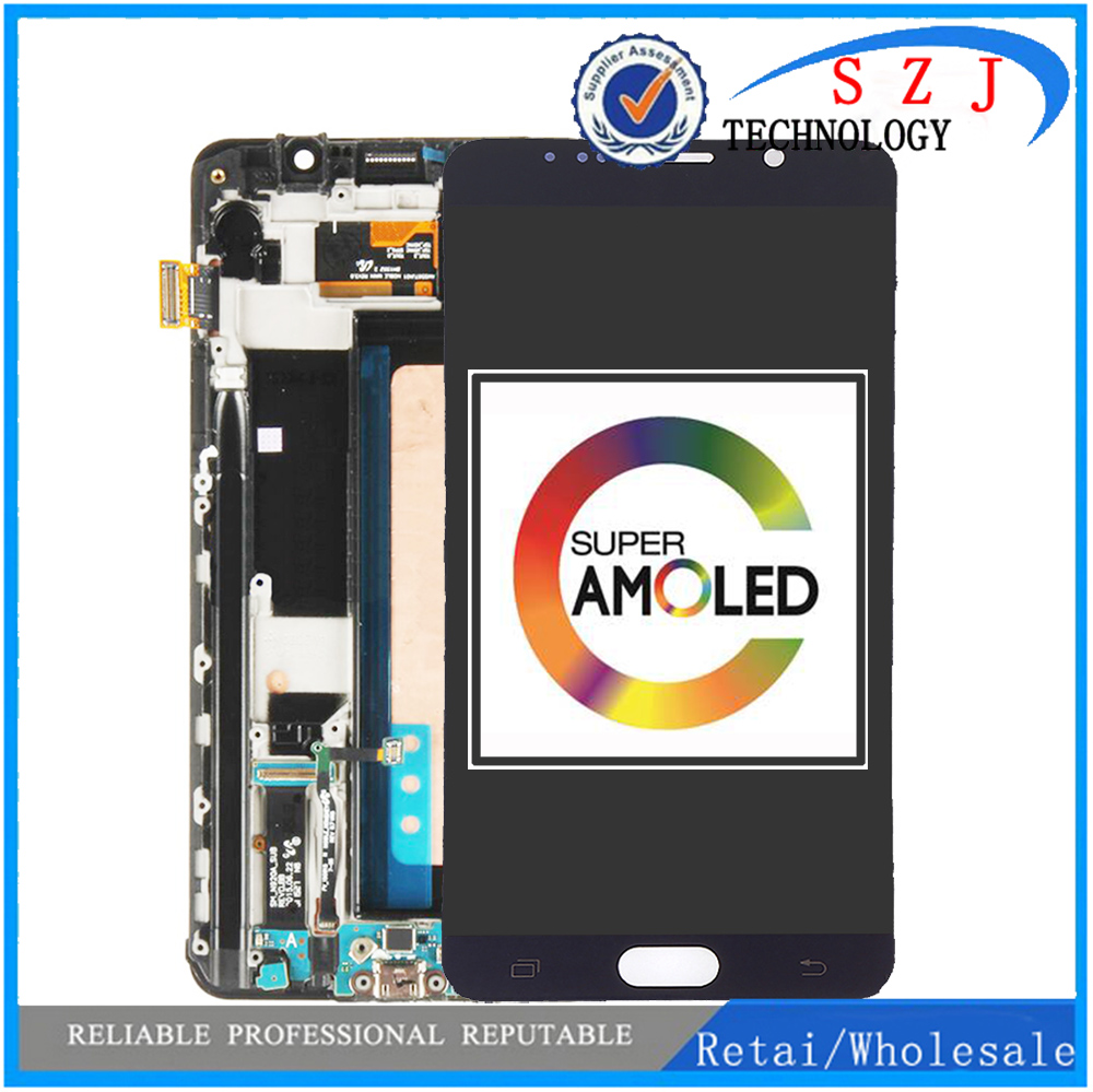 5.7 ''100% LCD d'origine pour SAMSUNG Galaxy Note 5 écran tactile LCD pour SAMSUNG Note 5 Note5 N920A N9200 SM-N920 N920C