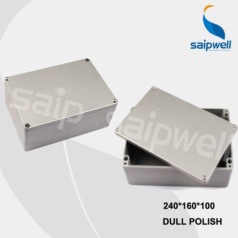 цена на 240*160*100mm Size Industrial Waterproof Aluminium Box With CE,ROHS (SP-FA65)