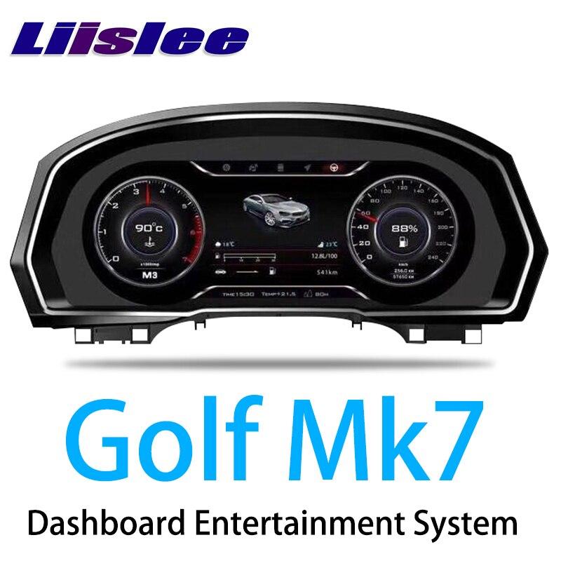 LiisLee Strumento di Sostituzione del Pannello del Cruscotto di Intrattenimento Sistema Intelligente per Volkswagen Golf 7 Golf7 Mk7 2012 ~ 2019LiisLee Strumento di Sostituzione del Pannello del Cruscotto di Intrattenimento Sistema Intelligente per Volkswagen Golf 7 Golf7 Mk7 2012 ~ 2019