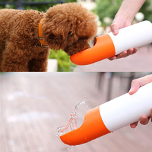 @HE 200ML Water 230g Food Portable Pet Dog Bottle Separate Outdoor Travel  Feeding For Cup