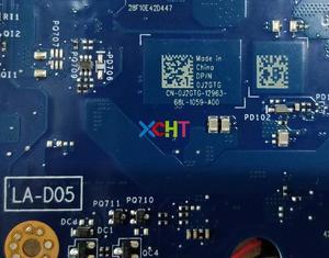 Image 5 - Dell 5557 için J2GTG 0J2GTG CN 0J2GTG BAV00 LA D051P w i5 6200U CPU N16S GM S A2 GPU DDR3L Laptop Anakart Anakart için Test