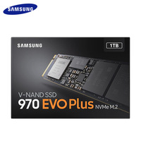 SAMSUNG SSD M.2 1TB 250GB 500GB 970 EVO Plus NVME 3500MB/s Internal Solid State Drive Hard Disk For Desktop Laptop PC Computer