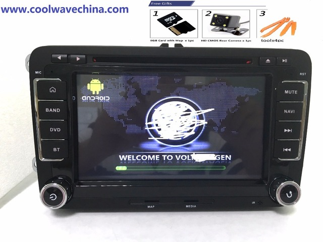 buy rns 510 2din android 6 0 2gram original oem for vw golf 5 6 jetta mk5 mk6. Black Bedroom Furniture Sets. Home Design Ideas