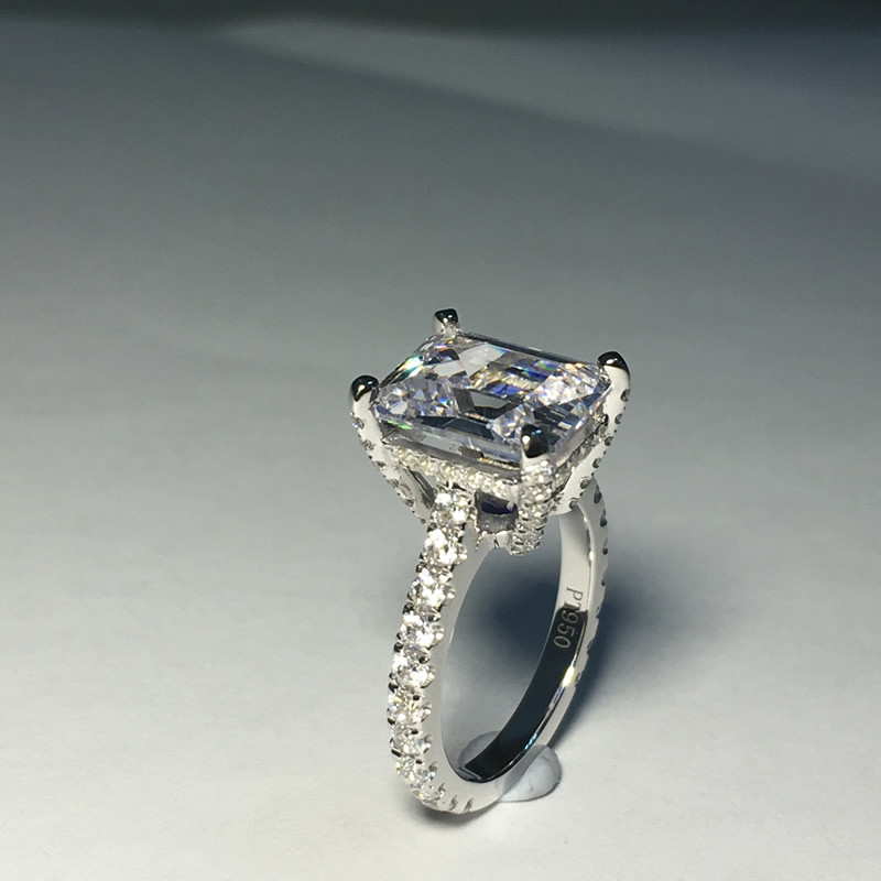 cut ct unique diamond breathless you centerpiece pin with this rectangular will leave rectangle pave natural ring is a design its gia cushion engagement remarkable