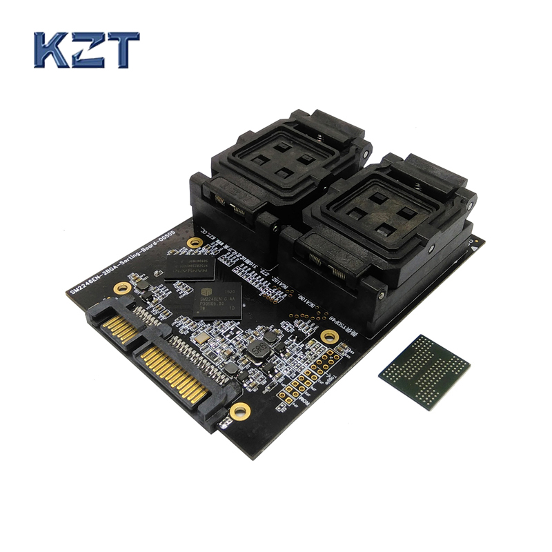 New Arrival BGA152 BGA132 Test Socket Clamshell Structure Jig SSD Interface Socket Fixture Excellent Quality ddr4 sdram particle test fixture multi fuction all in one jig memory chip burn in socket excellent quality