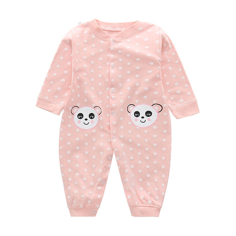 Baby Overalls 0-9M Newborn Rompers Infant Clothing Long Sleeve Baby Boys Girls Jumpsuits With Snap Crotch One-Piece For Winter sanlutoz baby rompers set newborn clothes baby clothing boys girls brand cotton jumpsuits long sleeve overalls coveralls winter