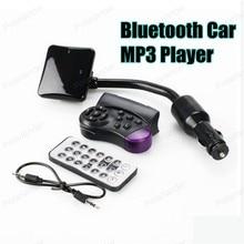 Новая Handsfree lcd экран Автомобильный MP3 плеер Bluetooth FM передатчик аудио с пультом дистанционного управления модулятор