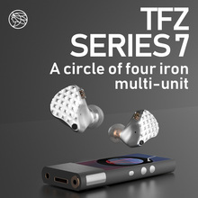 TFZ/ S7, Custom Monitor Hifi In-ear Earphones Balanced Armature HiFi Bass Earbuds DJ Earbud Detachable Cable