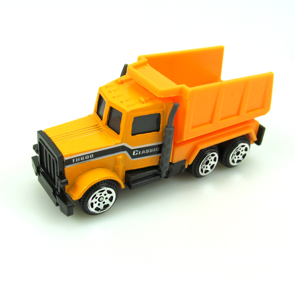 6 шт. трактор игрушечный автомобиль Мини Сплав Инженерная модель автомобиля самосвал игрушечная классическая модель транспортных средств