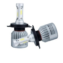 цена H4 H7 LED Car Headlight 12V COB H11 9005 9006 Led Lamp 72W 8000lm lampada  Auto Bulb Headlamp 6000K Light High Low Beam car Bulb