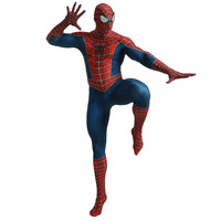 Spandex Spider Man Cosplay the Amazing Spiderman Cosplay for Men and Kids Halloween Superhero Party Spider Man Fancy Dress