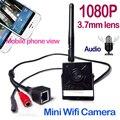 "Câmera de Segurança Onvif 1080 P 2.0 MegaPixels sem fio mini Câmera IP Sem Fio Wi-fi câmera ip mini P2P Plug Jogar 1/2. 8 ""sony imx322"