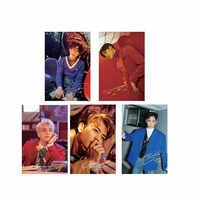 Youpop KPOP SHINee JongHyun Album Fotografico Trasparente Carta di Carte IN PVC Self Made Carta di LOMO Tesserino XK553