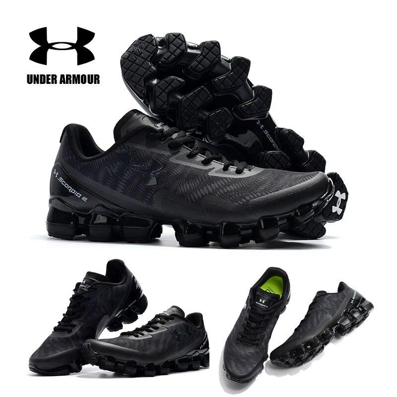 Sous armure baskets hommes UA Scorpio gros pneu 2 zapatillas hombre amorti chaussures de course chaussures de sport hommes chaussures à lacets