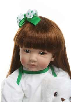 60cm Silicone Reborn Girl Baby Doll Play House Toys Girl Princess Toddler Babies Bonecas Birthday Gift Limited Edition Doll