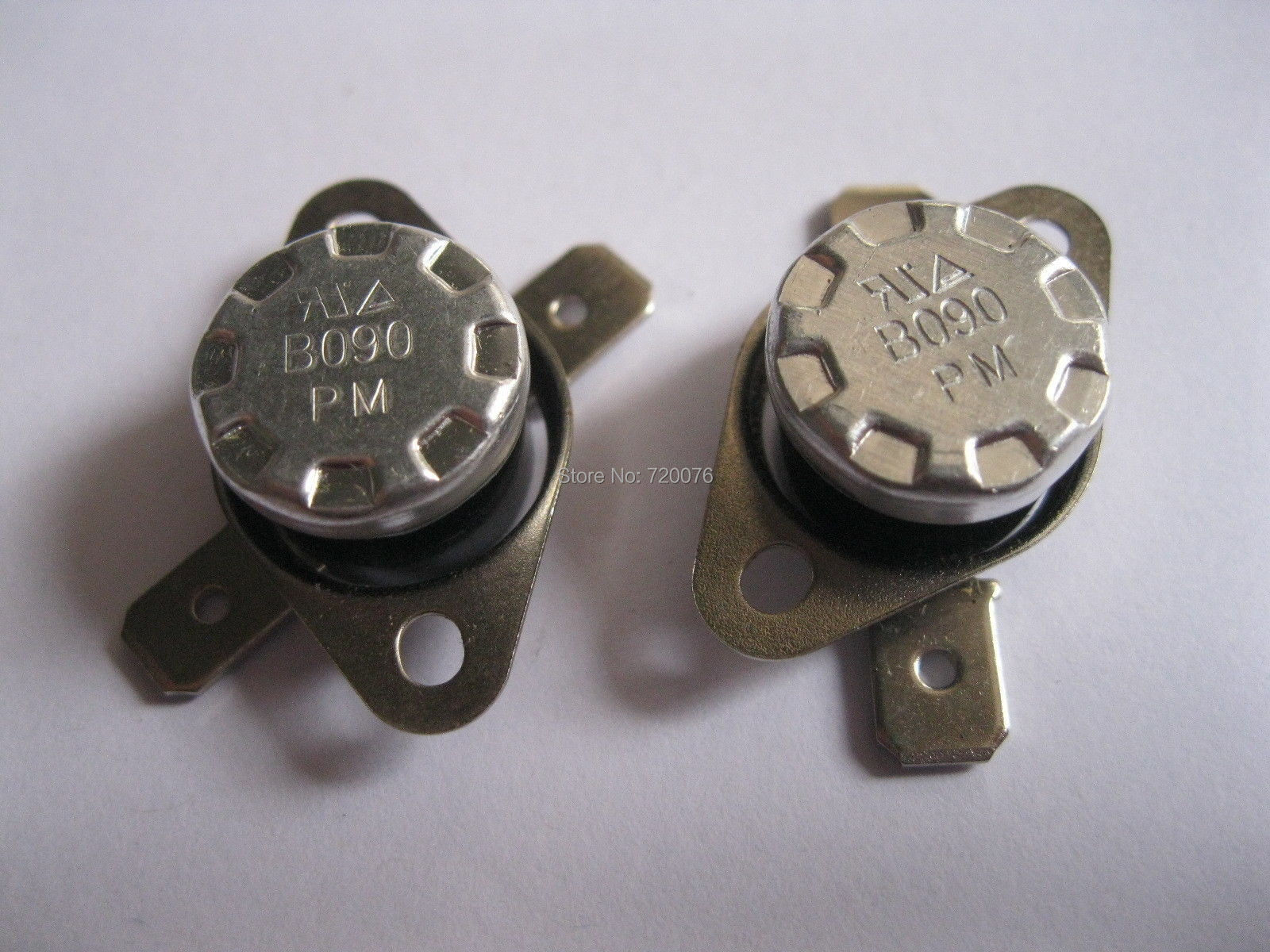 цена на 50 pcs Temperature Switch Thermostat 90 Degree N.C. KSD301 Normal Close