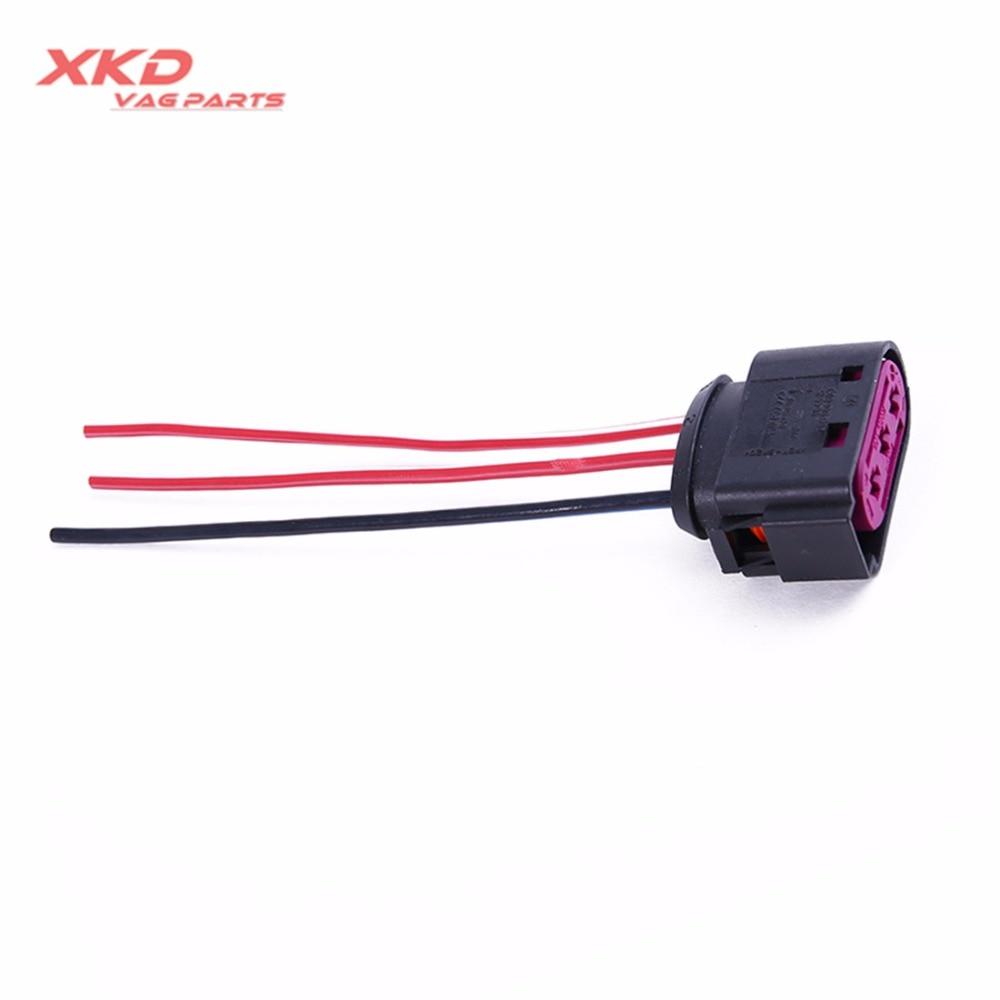 fuse box connector 3 pin plug fit for vw beetle bora jetta. Black Bedroom Furniture Sets. Home Design Ideas