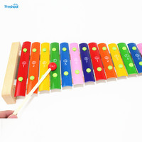 Montessori Kids Toy Baby Toys Colorful Fifteen Sounds Knock Xylophone Learning Educational Preschool Training Brinquedos Juguets