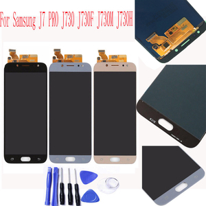 Super Amoled For Samsung Galaxy J7 Pro 2017 J730 J730F LCD Display Touch Screen Replacement lcd