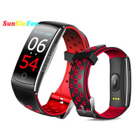 For Samsung Galaxy S6 Edge S6 Smart Wristband Bracelet Dynamic Heart Rate Blood Pressure Oxygen Steps Fitness Tracker Smart Band