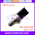 New Fuel Rail Pressure Sensor use OE NO. 5WS40208 , KA51-S01 for Renault