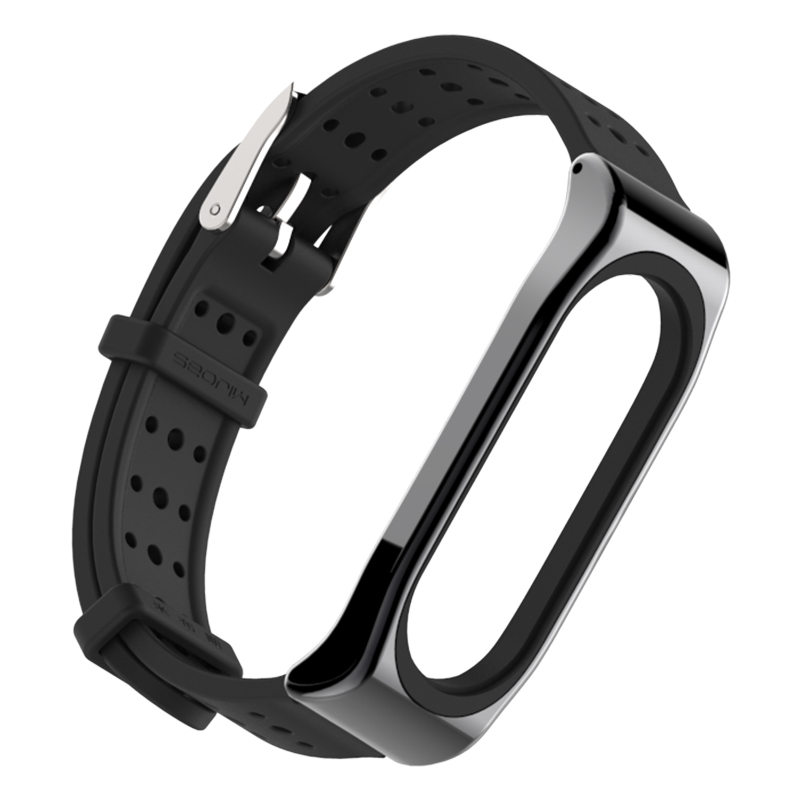 Image 3 - For Xiaomi Mi Band 3 Bracelet Strap Miband 3 Sports wristband Replacement strap For original Xiaomi Mi Band 3 Youth Strap-in Smart Accessories from Consumer Electronics