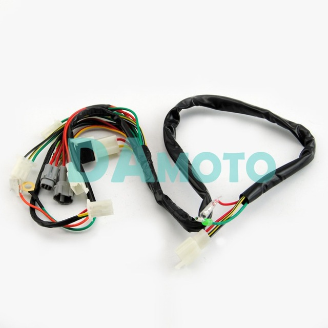 wire wiring harness assembly for yamaha pw50 replacement aftermarket in atv parts accessories from automobiles motorcycles on aliexpress com rh aliexpress com Triumph Motorcycle Wiring Diagram Yamaha Motorcycle Wiring Diagrams