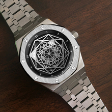 цена на DIDUN Men Watches Top Brand Luxury Mechanical Automatic Watch Fashion Business Watch steel strap Wristwatch