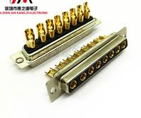 1pairs Power Connector 8W8 Male D sub db 8w8 8 pin mixed high current straight wire