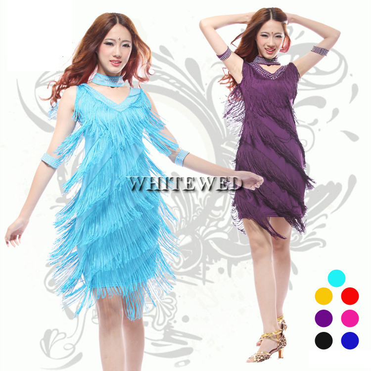 Womens Plus Size Fashion Jazz Flapper Girl Inspired Style Dresses