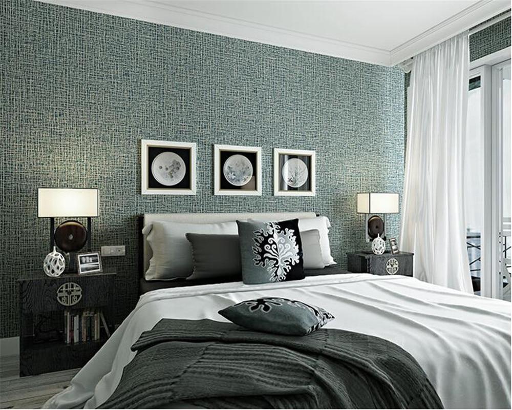 bedroom texture 3d modern living desktop wallpapers plain beibehang linen pure