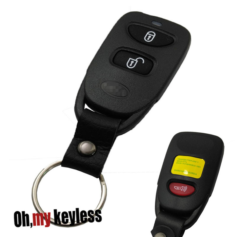 Thornton Hyundai: Replacement Key Fob Case For Hyundai Sonata I40 I35 Tucson