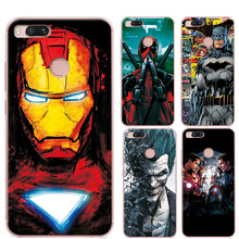 Charming Painted Case Cover For xiaomi a1 5.5″ Marvel Avengers Captain America Soft TPU Phone Cases Funda For Xiaomi Mi A1 MiA1