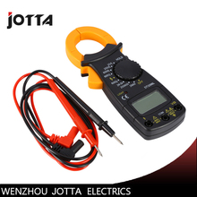 DT-3266L Digital Amper Clamp Meter Multimeter Voltmeter Ammeter 600A AC/DC Ohm Current Voltage Tester mastech ms2108 digital clamp meter true rms lcd multimeter ac dc voltmeter ammeter ohm herz duty cycle multi tester