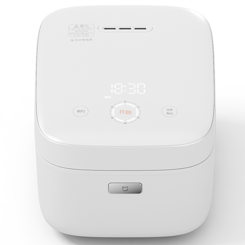 XIAOMI Smart IH Heating Rice Cooker Non-stick&24H Reservation Digital Rice Cooker and Warmer with LED Display 3L White xiaomi ih 3l smart electric rice cooker