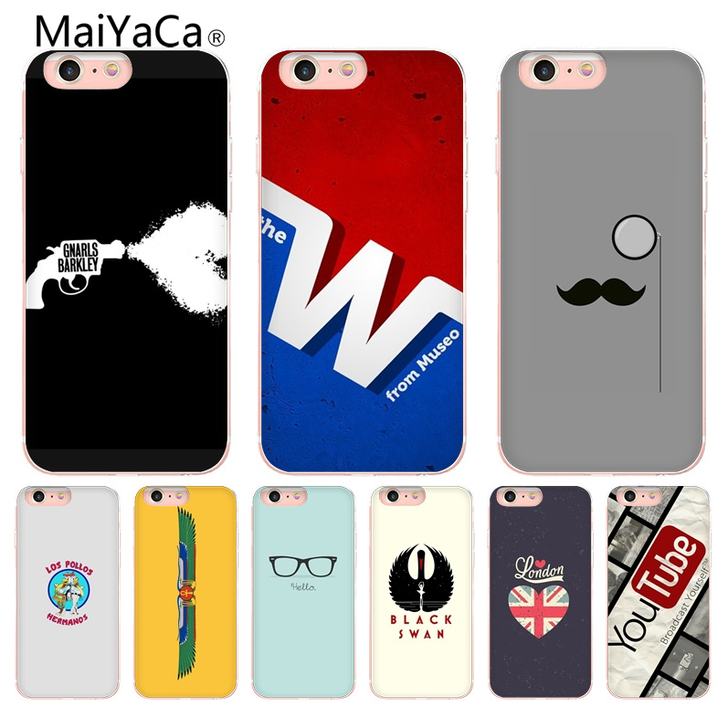 on sale daabd 526d5 MaiYaCa Funny ideas Newest Super Cute Phone Cases For Apple iPhone 8 7 6 6S  Plus X 5 5S SE 5C Mobile Cases