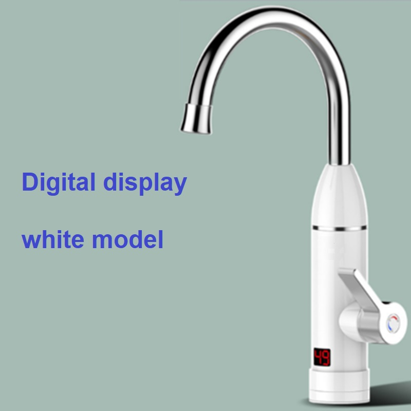 ZGD9-4,Electric Tankless Water Heater Instant Hot Water Heater Cold Heating Faucet Instantaneous Water Heater For Kitche,EU Plug