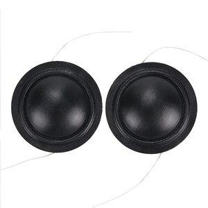 Image 2 - Promotion 12pcs 25.4mm Tweeter Voice Coil Silk Diaphragm Drive 25.5core KSV Treble Speaker Repair DIY 6ohm 8ohm 100pcs