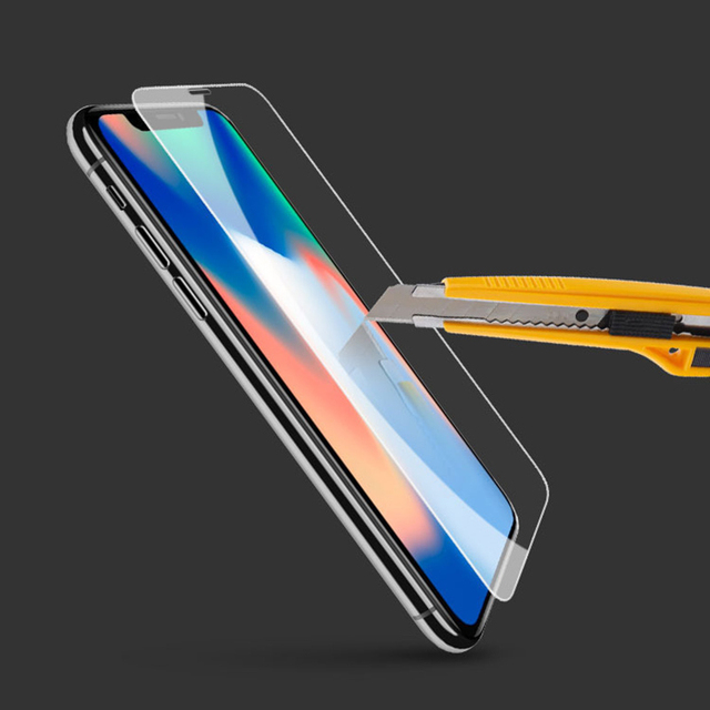 size 40 6ca9a 33f74 US $2.69 25% OFF 10pcs Front+10pcs Clear Back Plastic Glass For iPhone X XR  XS Max Full Screen Protector Guard Glossy Tough Protection Film-in Phone ...