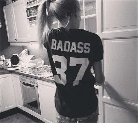 BADASS 37 T SHIRT Women Summer Style Outfits Fashion Clothes Funny Tumblr Graphic Tees Crewneck