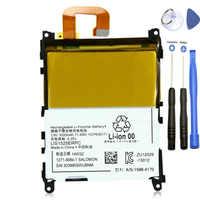 ISUNOO LIS1525ERPC 3,8 V 3000 mAh Ersatzakku Für Sony Xperia Z1 L39H C6902 C6903 Akku mit reparatur-werkzeuge