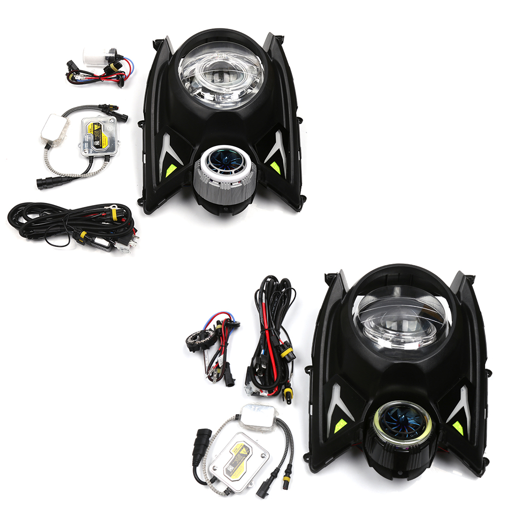 Scooter Accessories Head Light Lamp Headlight Headlamps Plus Fan Head LED Lifht Decoration For Yamaha BWS X 125 scooter plus свитер