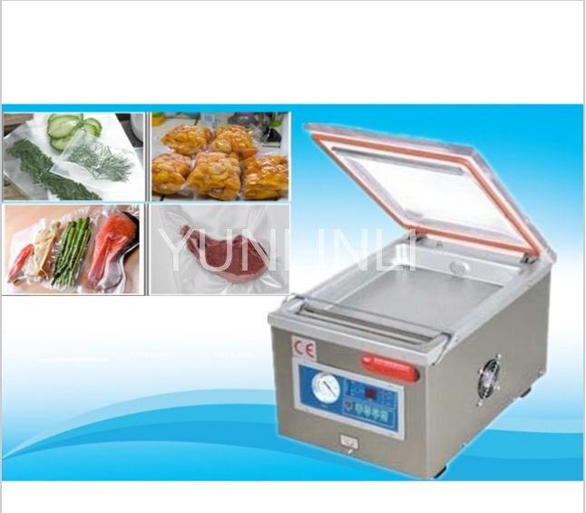 Électrique En Aluminium Sacs Vide Scellant Sac de Nourriture D'étanchéité Machiner DZ-260 emballage Sous Vide machine