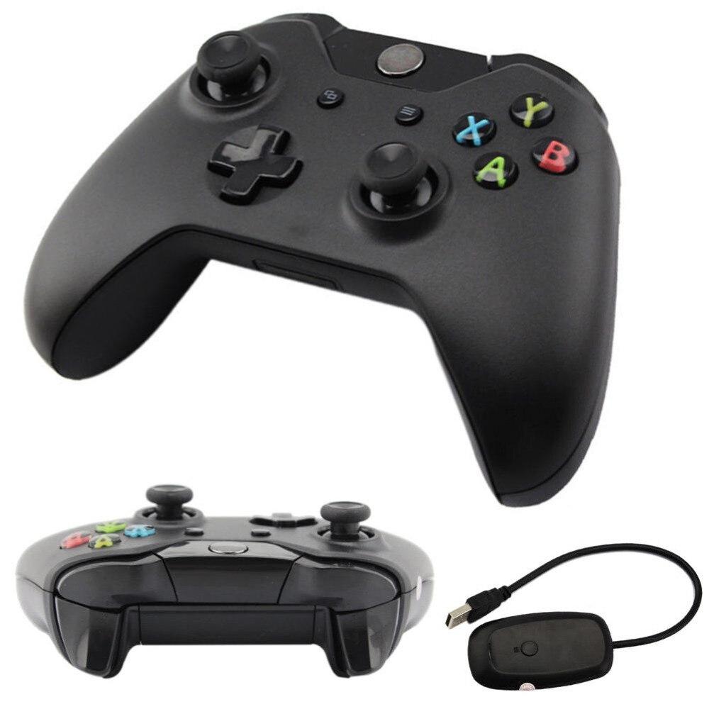 Neue 2,4 GHz Wireless Game Controller Joypad Joystick mit Controller Empfänger Für Xbox One für Microsoft PC Laptop Großhandel A273